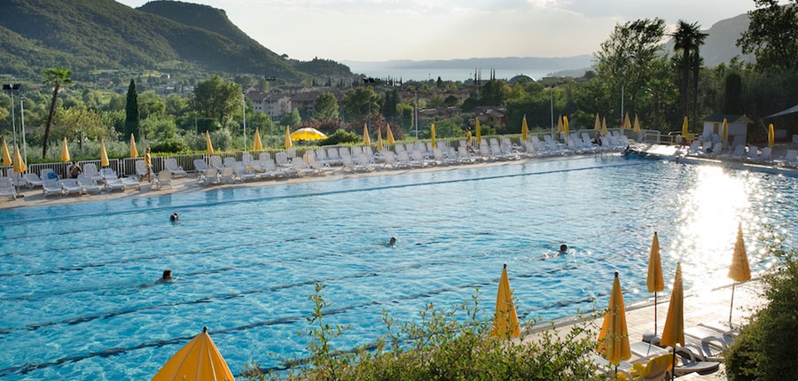 Apartments Poiano, Garda, Lake Garda, Italy - swimming pool area.jpg